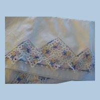 Pair Hand Crochet Pillowcases