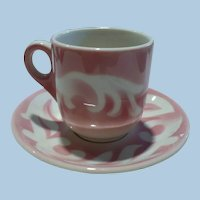 Syracuse China Cup & Saucer Demitasse