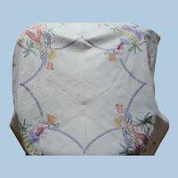 Senor Senorita Embroidered Table Cloth