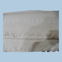 Hand Crochet White Pillowcases
