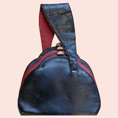 1940's Three Part Leather Purse by Azka