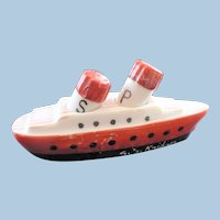 Japan Steamer Ship Salt & Pepper