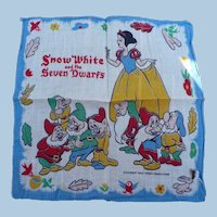 Walt Disney Snow White Handkerchief