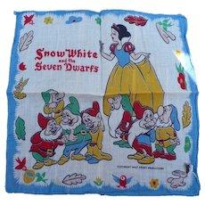 Walt Disney Snow White Handkerchief
