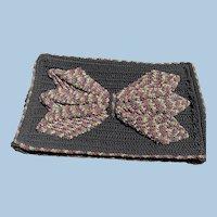 Multicolor Cord Clutch Purse