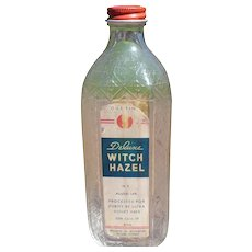 Old Walgreens Witch Hazel Bottle