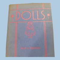 Dolls Anthology Book Emma Brock  Poetry 1938