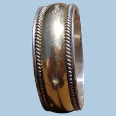 Sterling Gold Plated Band Ring