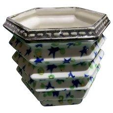 Small Czech Pottery Planter