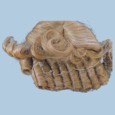 Blond Doll Wig with Curls
