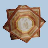 1930s String Art Frame