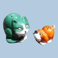 Cat & Dog Salt Pepper Set Germany