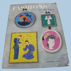 Marshall Field Fashions of the Hour Catalog 1940
