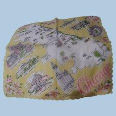 1950's Chicago Handkerchief