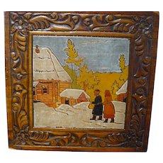 Wooden Russian Box