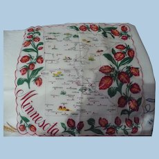 Minnesota State Handkerchief