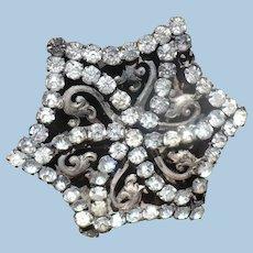 Victorian Rhinestone Hat Pin