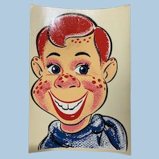 1950's Large Howdy Doody Decal