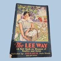1929-30  The Lee Way booklet, Diseases of Poultry & Swine