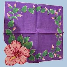 Hibiscus Handkerchief