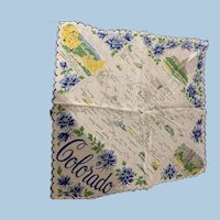 Colorado state Handkerchief