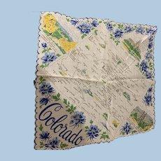Colorado state Handkerchief
