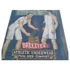Breeztex Men's Underwear Box top 1920's