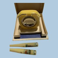Bakelite Celluloid Cigarette Holders Ashtray Czech
