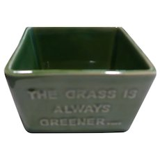Grass is Always Greener on the Other Side Planter