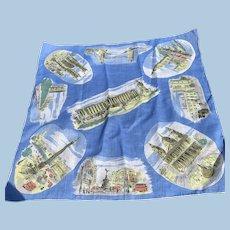 Cotton Kerchief. London Attractions