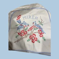 Hand Embroidered Mixer Cover