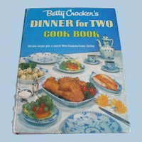 First Edition 1953 Betty Crocker Dinner for Two