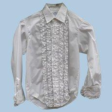 Boys Ruffled Formal Shirt