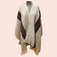 Churchill Weavers Wool Poncho