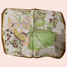 Dancing  Flower Fairies Handkerchief