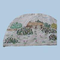 Hand Embroidered Linen Tea Cozy