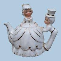 Lefton Bride Groom Teapot