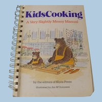Kids Cooking Book A Very Slightly Messy Manual