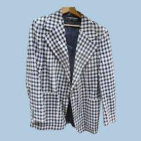 Pierre Cardin Check Sportcoat 1970's