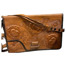 Hand Tooled Leather Purse