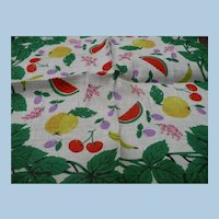 Colorful Fruit Handkerchief