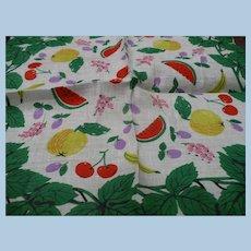 Colorful Fruit Handkerchief