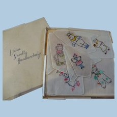 Boxed Set Children's Handkerchief