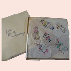 Boxed Set Children's Handkerchief