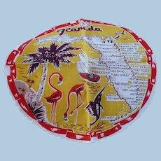 Florida Souvenir Round Handkerchief