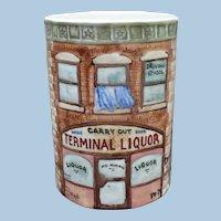 Art Pottery City Cup