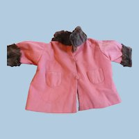 Fur Trim Doll Coat