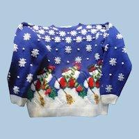 Snowmen  Holiday Sweater