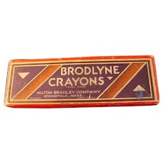 1940s Brodlyne Crayons