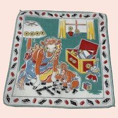 Elsie the Cow Handkerchief